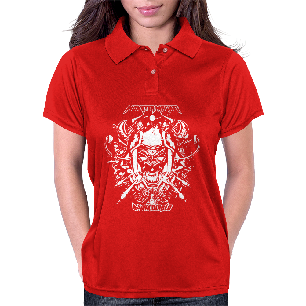 MONSTER MAGNET Womens Polo