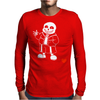 monster sans Mens Long Sleeve T-Shirt