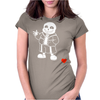 monster sans Womens Fitted T-Shirt