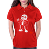 monster sans Womens Polo