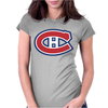 Montreal Canadiens Womens Fitted T-Shirt