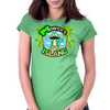 Monty's Island (My Store's Mascot) Womens Fitted T-Shirt