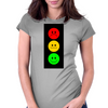 Moody Stoplight Womens Fitted T-Shirt