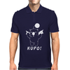 Moogle Final Fantasy T Kupo Gaming cute Moguri Mens Polo
