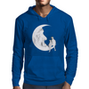 Moon and cats Mens Hoodie