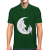 Moon and cats Mens Polo