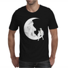 Moon and cats Mens T-Shirt