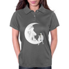 Moon and cats Womens Polo