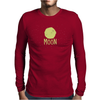 Moon Mens Long Sleeve T-Shirt