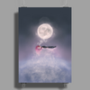 Moonsende / Back to Home by Rouble Rust Poster Print (Portrait)