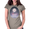 Moonsende / Back to Home by Rouble Rust Womens Fitted T-Shirt