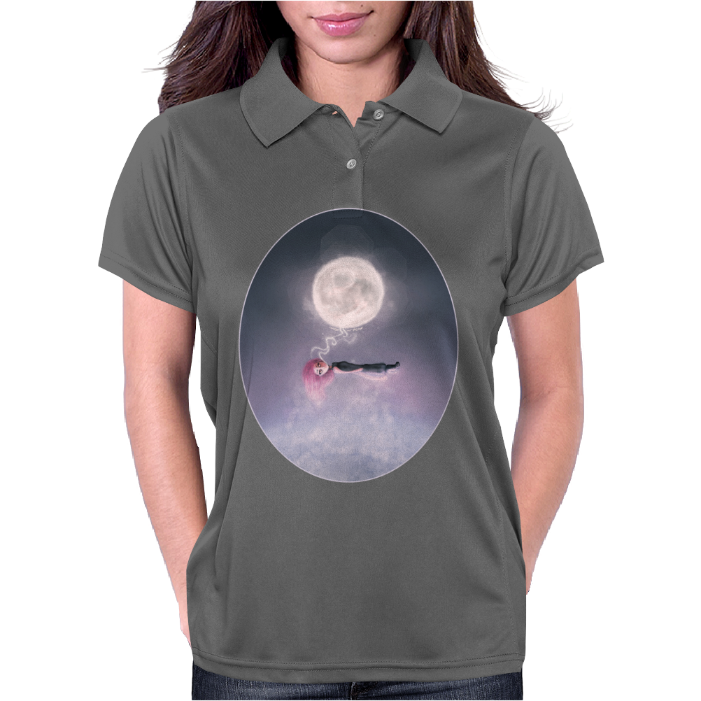 Moonsende / Back to Home by Rouble Rust Womens Polo