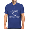More Cowbell Funny Mens Polo