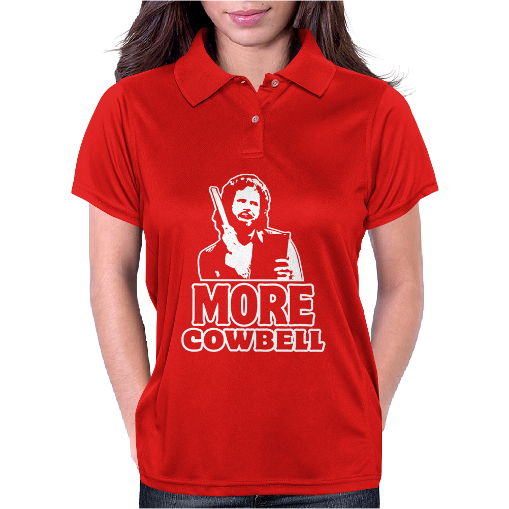 more Cowbell Womens Polo