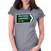 Morrissey Roadsign Swords M 09 Tour Womens Fitted T-Shirt