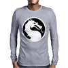 Mortal Kombat Dragon Mens Long Sleeve T-Shirt