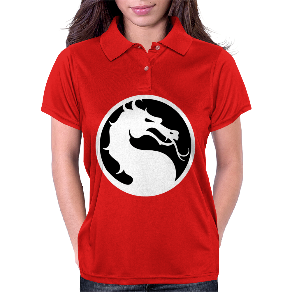 Mortal Kombat Dragon Womens Polo