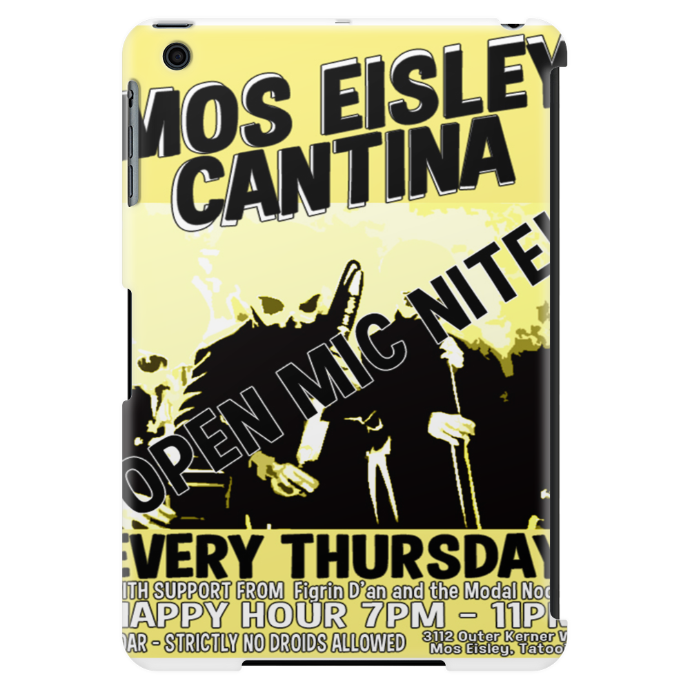 Mos Eisley Cantina Open Mic Night Tablet (vertical)