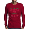 Most Wonderful Time For A Beer Mens Long Sleeve T-Shirt