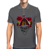 Moth Memento Mori Mens Polo