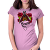 Moth Memento Mori Womens Fitted T-Shirt