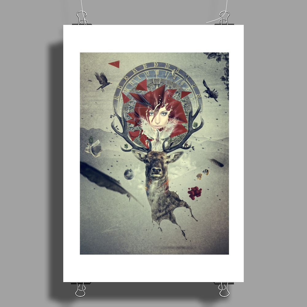 MotherEarth Poster Print (Portrait)