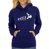Moto Cross Free Style Evolution Cool Womens Hoodie