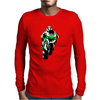 Moto-GP Hayden Mens Long Sleeve T-Shirt