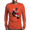 Moto-GP Racing Marquez Mens Long Sleeve T-Shirt