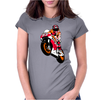 Moto-GP Racing Marquez Womens Fitted T-Shirt