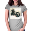 Motorbiker Womens Fitted T-Shirt