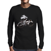 Motorcycle and Angel  Mens Long Sleeve T-Shirt