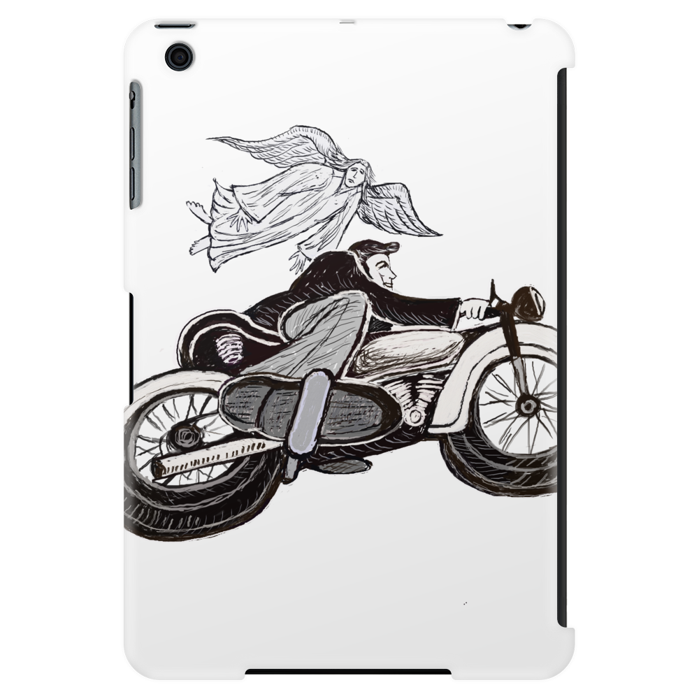 Motorcycle and Angel  Tablet (vertical)
