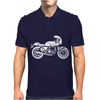 Motorcycle Onesie Mens Polo