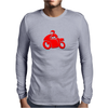 Motorcycle racer Mens Long Sleeve T-Shirt