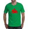 Motorcycle racer Mens T-Shirt