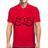 motorcycle racing  Mens Polo
