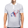 Motorsport M Stripes & Logo Mens Polo