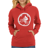 Mountain Biking Womens Hoodie