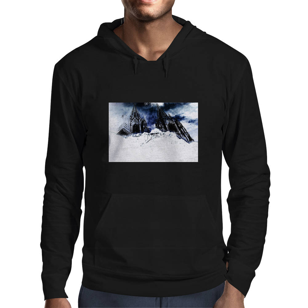 mountain dome Mens Hoodie