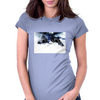 mountain dome Womens Fitted T-Shirt