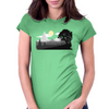 Mountain View Womens Fitted T-Shirt