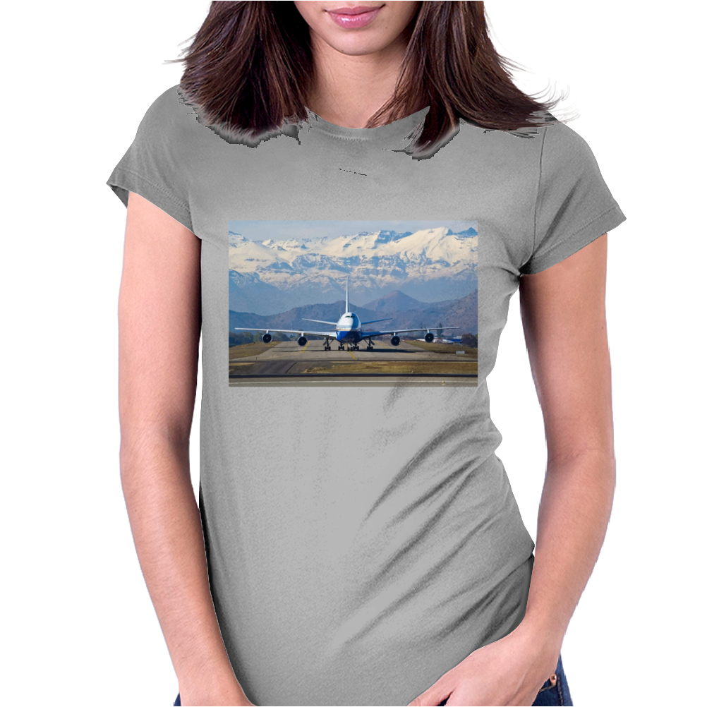 mountain Womens Fitted T-Shirt