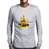 Mountains Mens Long Sleeve T-Shirt