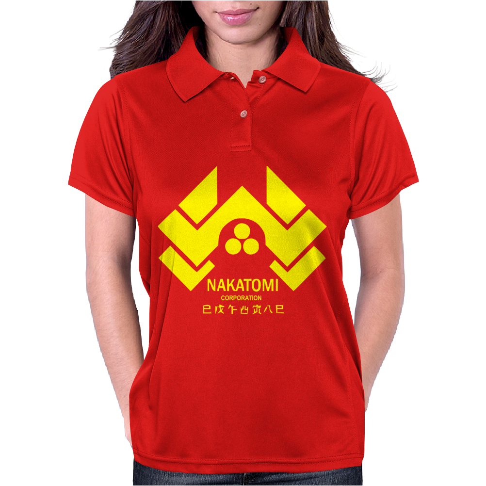 Movie T-shirt inspired by the classic film - Die Hard Womens Polo
