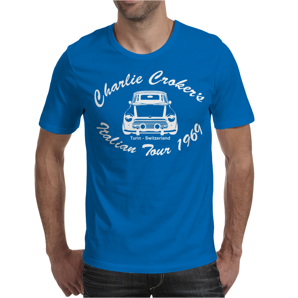 Movie T-shirt inspired by the classic Italian Job - The Italian Job Mens T-Shirt