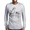 Mowgli has had enough of The Jungle Book Mens Long Sleeve T-Shirt