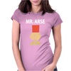 Mr Arse Stag Night Womens Fitted T-Shirt