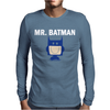 Mr Batman Mens Long Sleeve T-Shirt