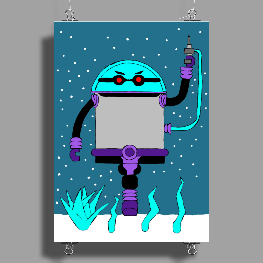 Mr. Freeze Pogo Poster Print (Portrait)